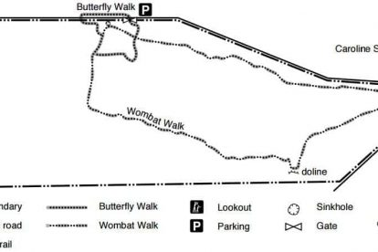 Penambool Conservation Park Map 1