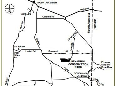 Penambool Conservation Park Map 2