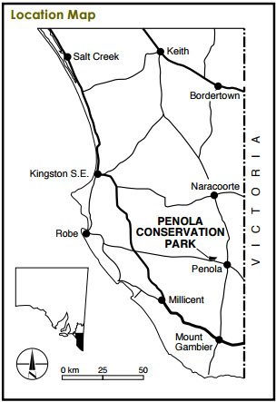 Penola Conservation Park Map 2