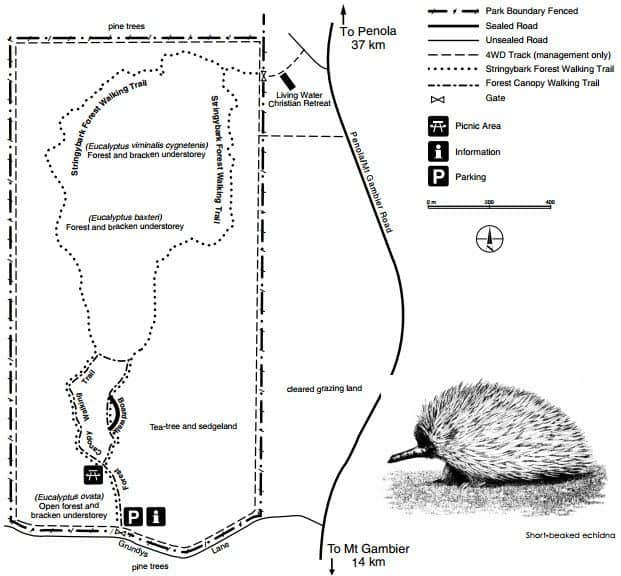 Telford Scrub Conservation Park Map 1