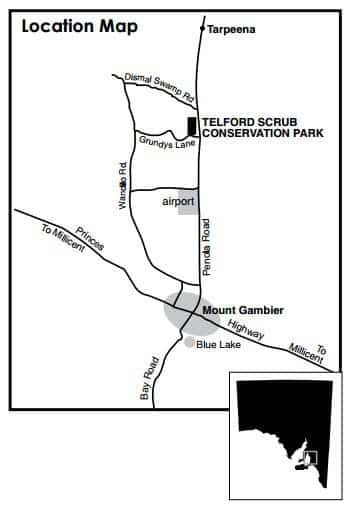 Telford Scrub Conservation Park Map 2