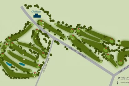 Blue Lake Golf Links Course Layout