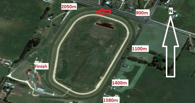 Allan Scott Glenburnie Racecourse Map