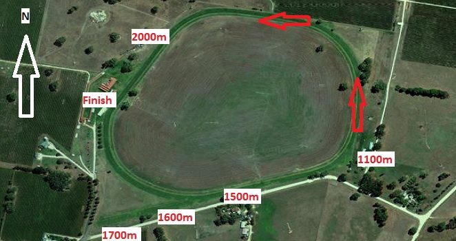 Penola Racecourse Map
