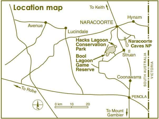 Bool Lagoon Map 2