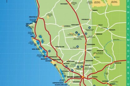Mount Gambier Region Map