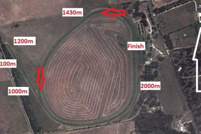 Naracoorte Racecourse Map