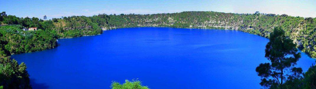 Blue Lake Mount Gambier Volcano Tour Address Amp Map South Austalia