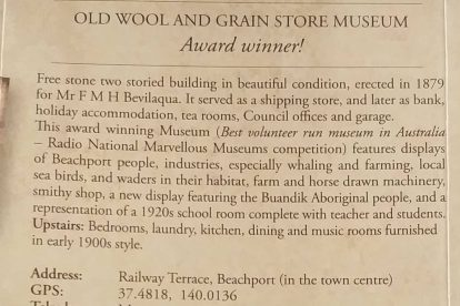 Beachport Old Wool and Grain Store National Trust Museum-07