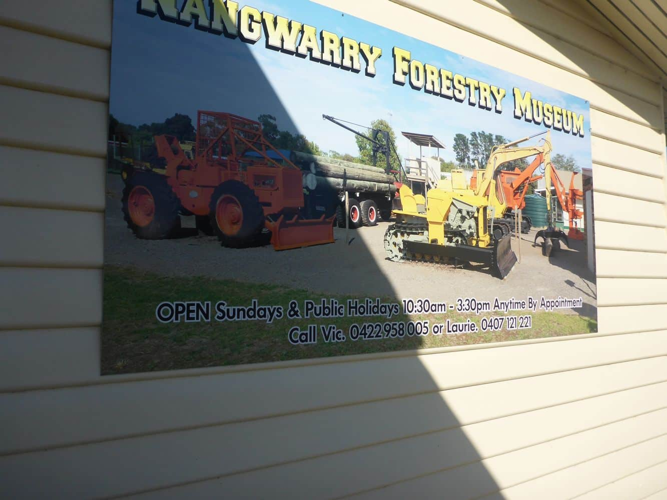 Nangwarry Forestry and Logging Museum 09